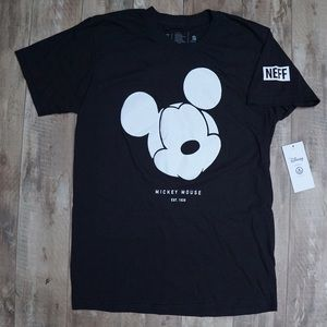 Disney by Neff Mickey Mouse Classic Black T-shirt
